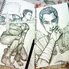 Karou — Amazing fan art of Akiva. I love him so much....