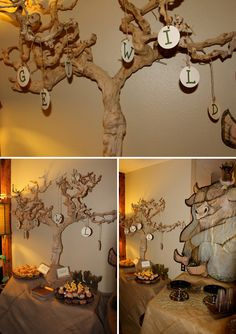 where the wild things are themed #babyshower! too cute! this would be a fun birthday party idea as well. loves it!