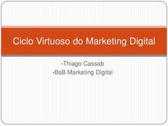 ciclo-virtuoso-do-marketing-digital by tcassab via Slideshare