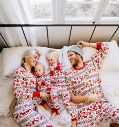 Matching family Christmas pajamas!