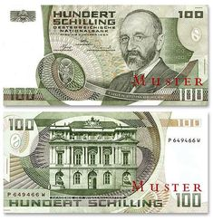 100 österreichische Schilling, die Währung vor dem Euro. 100 Austrian Schilling, the currency before the Euro. 90s Childhood, My Childhood Memories, Kitsch, Tirol Austria, Green Zone, Back To The 80's, Retro Vintage, Do You Remember, Diy And Crafts