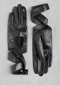 Leather wrap gloves | Leather wrap gloves | & Other Stories