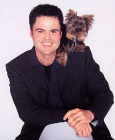 Donnie Osmond – The yorkie is a ladies' pooch, but there are some male celebrities preferring this breed too. Donnie is a fine example for this. His yorkie is called Spike.  Yorkie