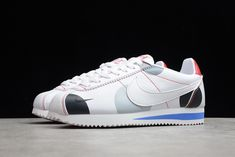 2021 New AH7528-006 Nike Wmns Classic Cortez White/Red-Grey Nike Classic Cortez, Red And Grey