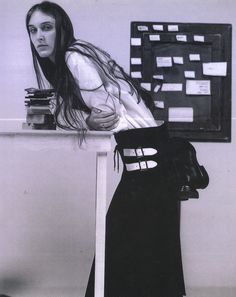 Yohji Yamamoto catalog, A/W 1999 - I want a holster for my shoes too.