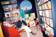 The author Douglas Coupland's study in his house in Vancouver is full of…
