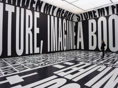 "Barbara Kruger's ""Taking Place"" Exhibition"