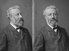 Author Jules Verne, portrait by Nadar (Gaspard-Félix Tournachon). Jules Verne, History Of Photography, Photography Lessons, Victor Hugo, Famous Aquarians, Romantic Writers, Honore Daumier, Most Famous Artists, Writers And Poets