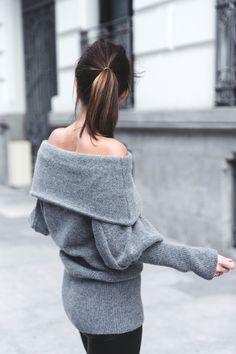 Las prendas que dejan los hombros al descubierto me apasionan y por ello son un básico en mi...