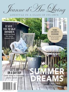 Make Theme, Outdoor Spaces, Outdoor Decor, Living Magazine, Cozy Bedroom, Inspired Homes, Day Trips, Yummy Food, Inspiration