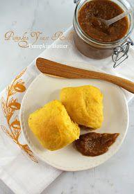Authentic Suburban Gourmet: Pumpkin Yeast Rolls + Pumpkin Butter | Secret Recipe Club