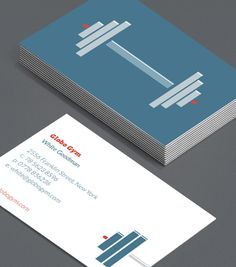 Modern Personal Trainer Business Card Personal Training - Personal trainer business card template