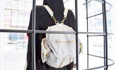 Alexander Wang Grey Marti Mercury Backpack $850.00