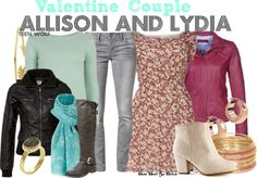 Inspired by best friends Crystal Reed and Holland Roden as Allison Argent and Lydia Martin on Teen Wolf.