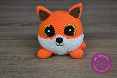Ravelry: Amigurumi fox Lucian pattern by Ami Little Creature Diy Crochet Amigurumi, Crochet Baby Toys, Crochet Fox, Crochet For Kids, Crochet Animals, Amigurumi Patterns, Crochet Hooks, Free Crochet, Fox Pattern