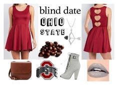 """""""Love For Ohio State Buckeyes"""" by ahsoka-star-wars ❤ liked on Polyvore featuring Charlotte Russe, Givenchy and A.P.C."""