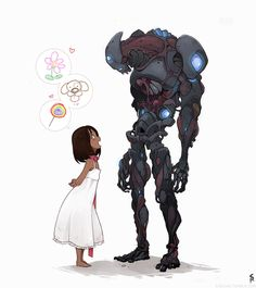 Robot character design stylish robot design idea best image on character robotic and in war logo . Character Design Challenge, Character Design Sketches, Character Design Inspiration, Character Concept, Character Art, Concept Art, Animation, Cyberpunk, Intelligent Agent