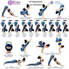 @elena_miss_yoga . Episode 5️⃣8️⃣ #ashtangavinyasawithelena #intermediateseries #nadishodhana #tittibhasana #fireflypose . With @re3life #re3 #re3life @yoga.tutorials @yogaalignment . For disclosure, my favourite part of the second series I know you shouldn't have a favourite Asana, but I am human, and I do . Titthibhasana 16 Vinyasas Dristi: nasagre (tip of the nose) . Sapta 7: Inhale, jump forward balancing on straight arms, place the legs on the upper arms, straighten both legs. Ti...