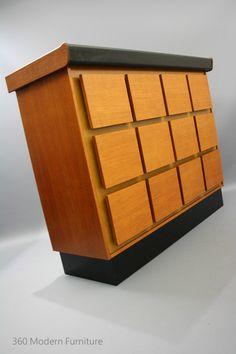 MID Century Modern BAR Cocktail Cabinet Vintage Retro Macrob Teak blockmount Sideboard Danish era in VIC 360 Modern Furniture | eBay