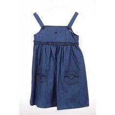Denim 4A - 4 Years Armani Junior girls dress CEA17 NH 15