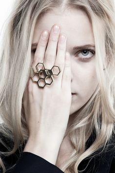 Shahla Karimi Jewelry LookBook.  3D printed concept jewelry.  Shahlakarimi.com