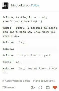 Bokuto is so cute