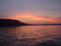 Sunset on Douglas Lake Sevierville TN (love this lake!!)