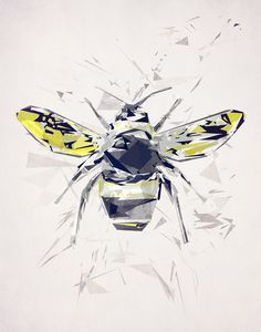 Poster | BUMBLEBEE von Tracie Andrews | more posters at http://moreposter.de