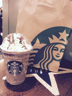 Double choc chip frappichino  Starbucks