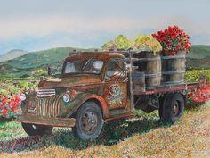 vintage truck...........gail chandler....
