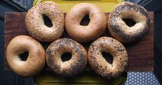 Bagels caseros Bagel, Favorite Recipes, Bread, Cooking, Food, Relleno, Buns, Marmalade, Sweets