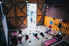 Fitness and exercise space – Pop Brixton – London –  #industrial
