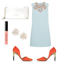 """""""Dinner Style!"""" by shahkhushi on Polyvore featuring Miu Miu, Proenza Schouler, Trina Turk, Bobbi Brown Cosmetics and Cara"""