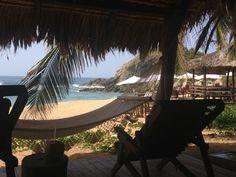 Beach cabana El Alquimista. Zipolite, Mexico