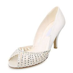 wedding shoes for women ivory | ... Wedding Bridal Shoes (Size: 6.5 B(M) US/Ivory) | Blushing Bridezilla