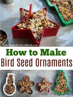 Winter Bird Crafts For Kids Corn Syrup 40 New Ideas Christmas Bird, Christmas Crafts For Kids, Holiday Crafts, Christmas Gifts, Pinterest Christmas Crafts, Christmas Ideas, Pinterest Craft, Outdoor Christmas, Christmas Christmas