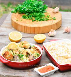 Lebanese Cuisine, Lebanese Recipes, International Recipes, Hummus, Stew, A Food, Cauliflower, Dinner, Ethnic Recipes