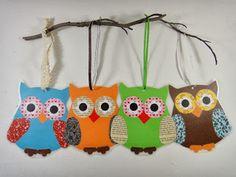 instruction, diy, homemade, crafts, laminated paper owls - Crafts for Teens Teen Homemade, Homemade Crafts, Diy Crafts To Do, Owl Crafts, Decor Crafts, Diy For Teens, Crafts For Teens, Kids Diy, Kids Crafts