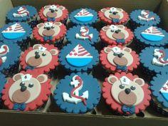 Ursinho  marinheiro cupcake