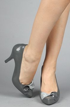 Karmaloop > Melissa Shoes - The Talking Shoe in Gray. $130.00