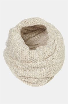 Topshop Two Tone Infinity Scarf available at #Nordstrom