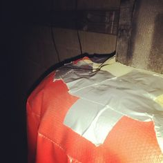 Bag repairs.    #mma #muaythai #exercise #fitness