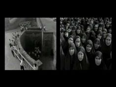 SHIRIN NESHAT, Rapture, 1999. Two-channel video projection. (04:50-min excerpt of 11-min projection.)