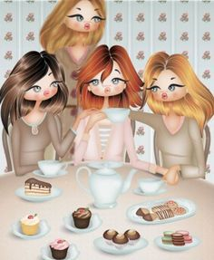Este dibujo representa a mis 3 hermanas y a mi!<3