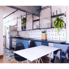 Projeto lindo @husarq com nossos azulejos Traço :-) #azulejos #azulejosdecorados #revestimento #arquitetura #reforma #decoração #interiores #decor #casa #sala #design #cerâmica #tiles #ceramictiles #architecture #interiors #homestyle #livingroom #wall #homedecor #lurca #lurcaazulejos