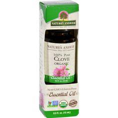 Natures Answer Essential Oil - Organic - Clove - .5 Oz
