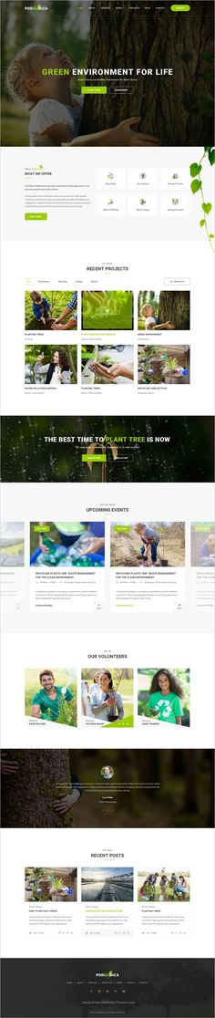 Podgorica is a wonderful PSD #Template suitable for all types of #Environmental and Go Green Organizations website with 3 homepage layouts and 19 organized PSD files download now➩ https://themeforest.net/item/podgorica-environmental-psd-template/19165156?ref=Datasata