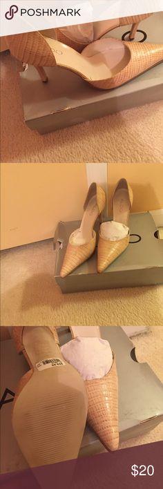Beige Aldo pumps NWT. Cute beige size 7 pumps by Aldo brand new with tags and original box! Aldo Shoes Heels