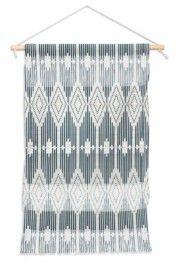 "Deny Designs Heather Dutton West End Midnight Linen Wall Hanging Portrait, 11""x16"""