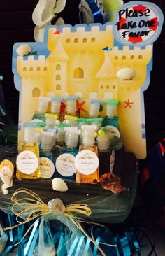 hand sanitizers favors for baby showers.
